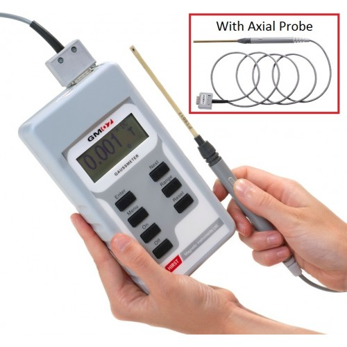 GM07AP Gaussmeter with Transverse and Axial probe
